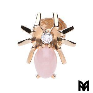CHAUMET SINGLE EARRING ATTRAPE-MOI PINK SPIDER