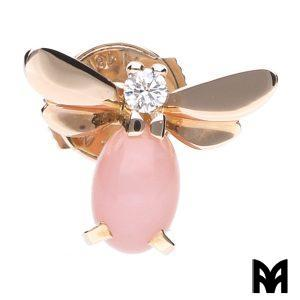 CHAUMET SINGLE EARRING ATTRAPE-MOI PINK BEE