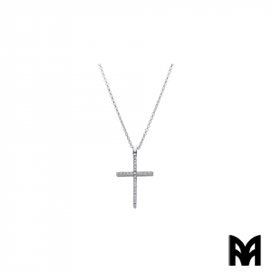 BRILLIANTS GOLD CROSS PENDANT