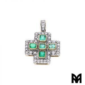 CROSS EMERALDS DIAMONDS