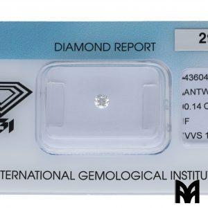 DIAMOND F VVS1 0,14