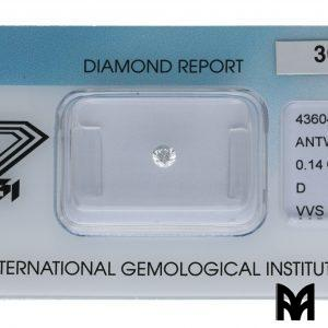 DIAMOND D VVS1 0,14