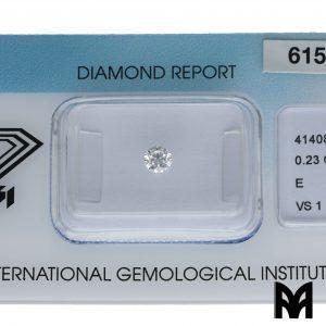DIAMOND E VS1 0,23
