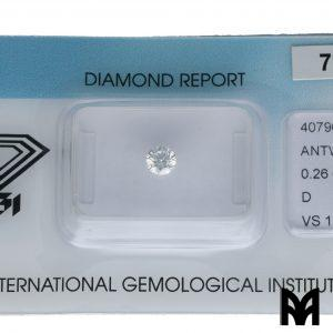 DIAMOND D VS1 0,26