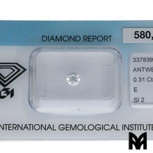 DIAMOND E SI2 0,31